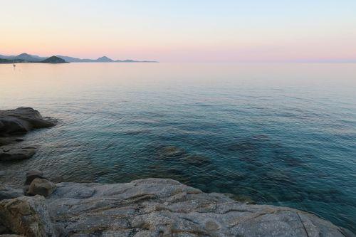 holiday sardinia sunset