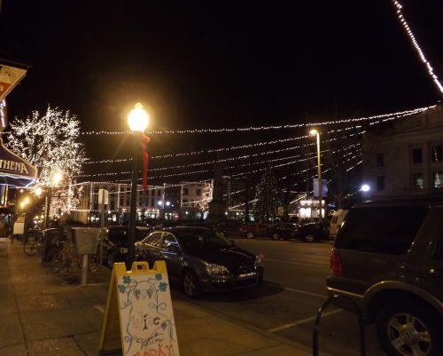 Holiday Lights Northeast Corner