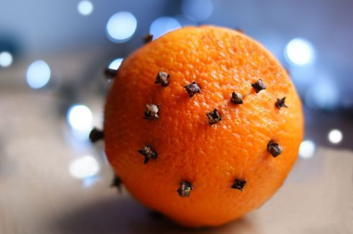 holidays orange cloves