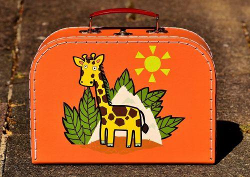 holidays luggage children