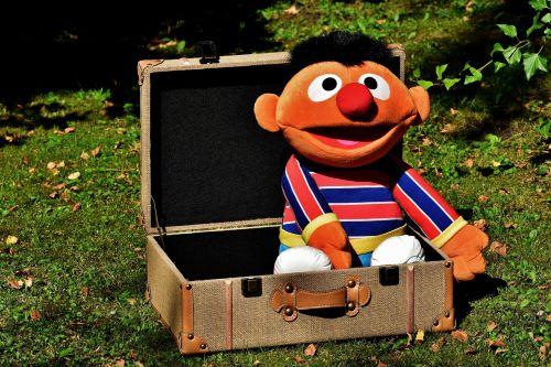 holidays go away briefcase