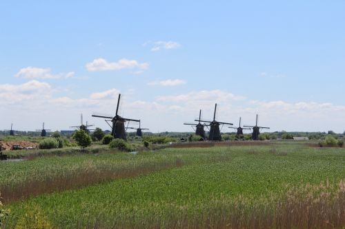 holland mill kinderdijk