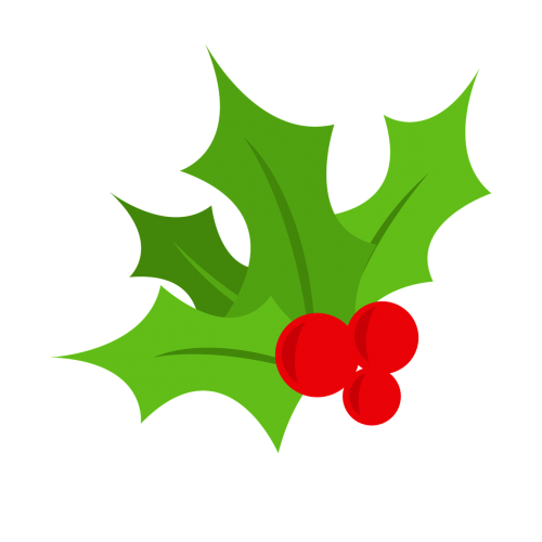 holly christmas tree berry
