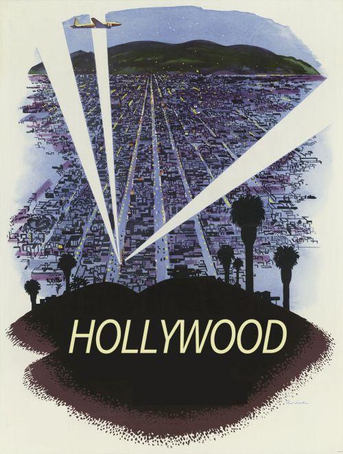 Hollywood Vintage Poster
