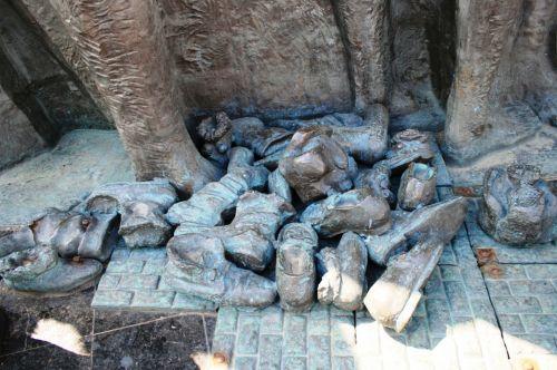Holocaust Memorial Detail, Moscow