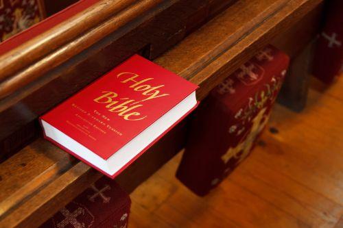 Holy Bible In Church