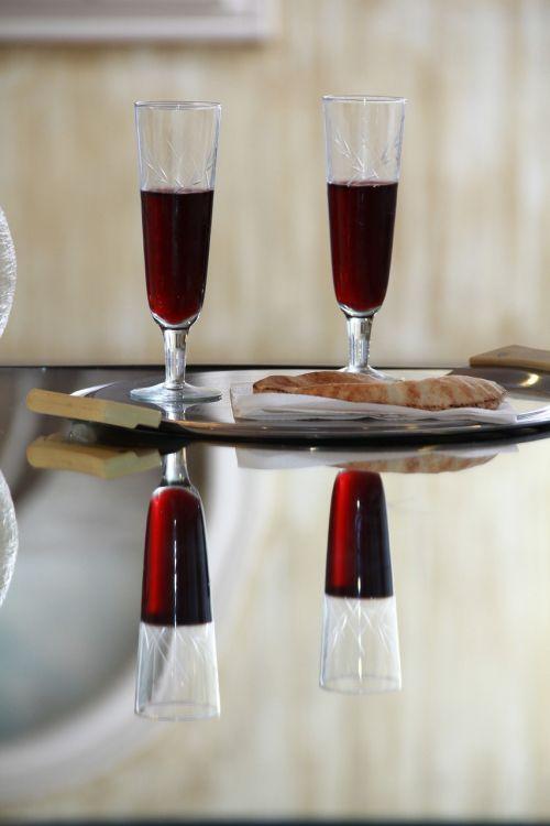 holy communion wine mirror