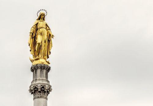 holy mary monument zagreb maria