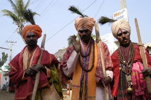 holy men india blessings