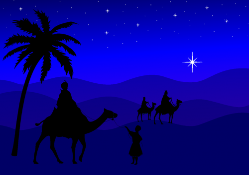 holy three kings christmas kings