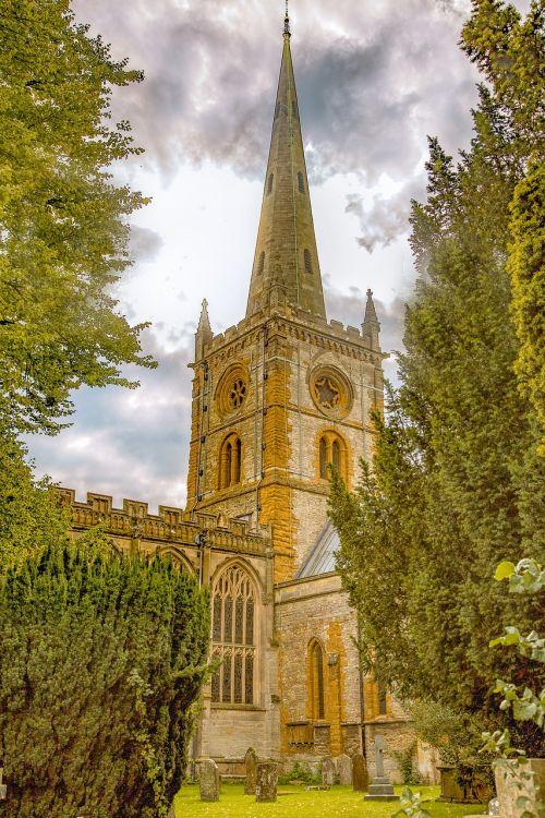 holy trinity church stratford upon avon architecture