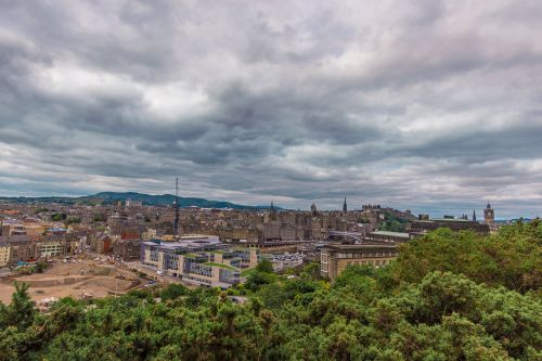 holyrood park in edinburgh edinburgh city view city