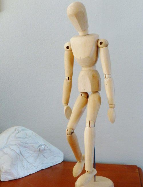 holzfigur doll figure