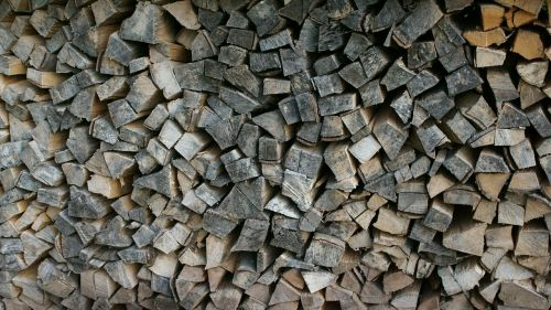holzstapel wood structure stack