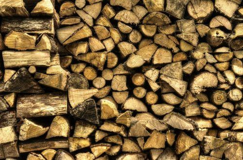 holzstapel wood firewood