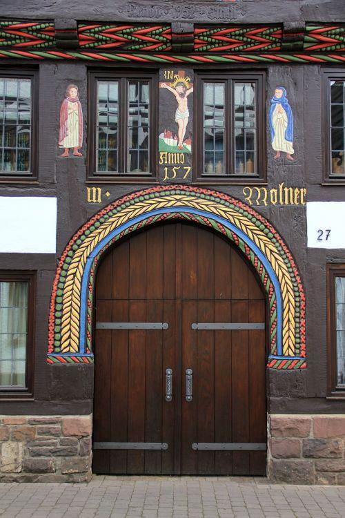home building door