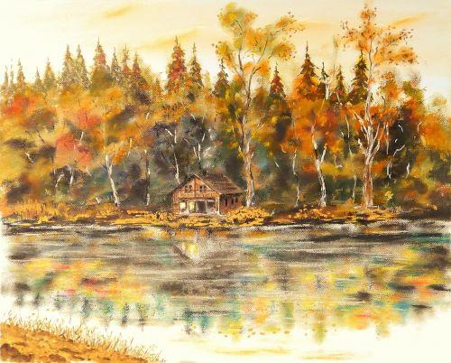 home lake landscape