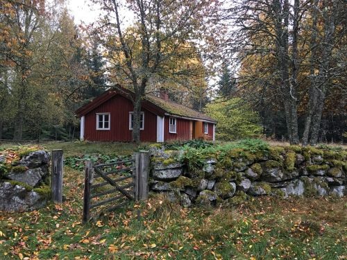 home sweden stone wall