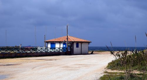 home beach sea