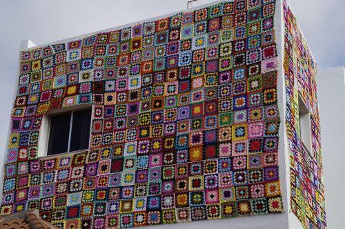 home crochet patchwork