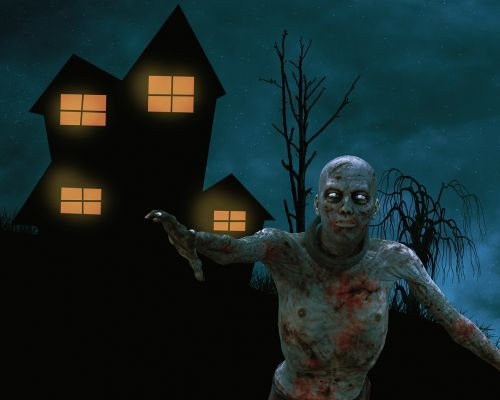 home zombie undead