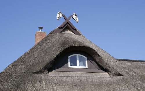 house  housetop  thatched roof