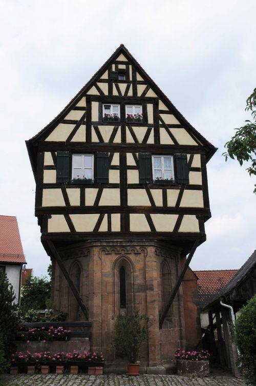 home fachwerkhaus building
