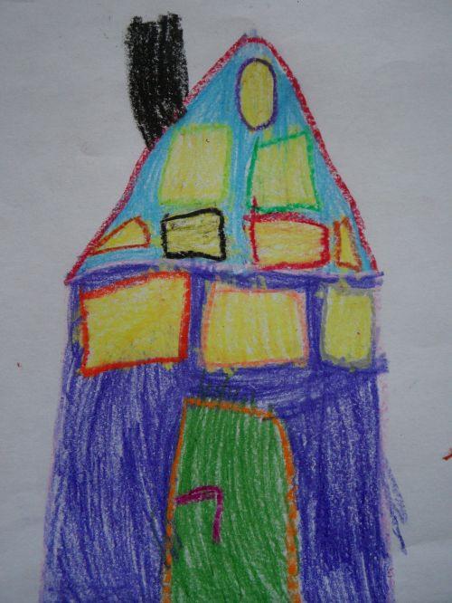 home children drawing character development