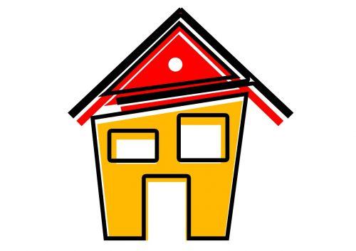 home logo abstract