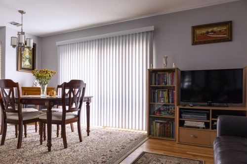 home interior vertical blinds sliding door