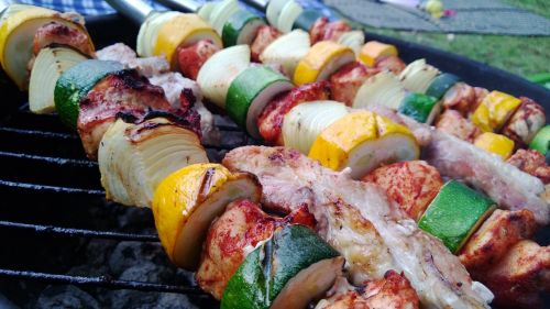 Home Made Camping Kebabs