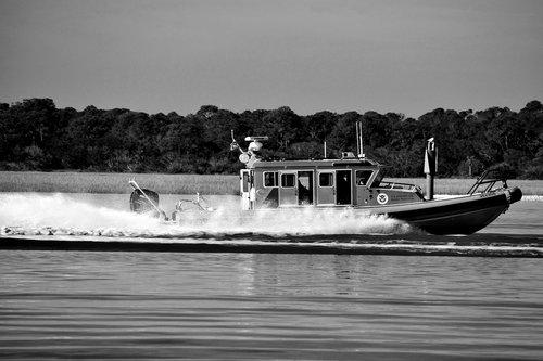 homeland security  boat  border patrol