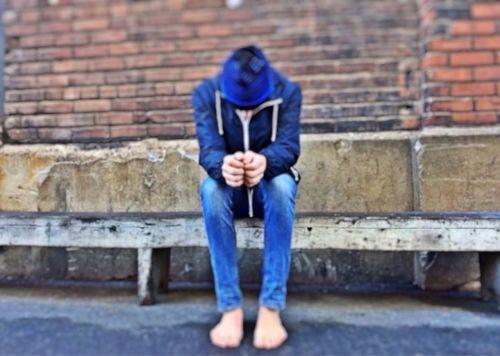 homeless lost bullied