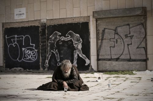homeless street art
