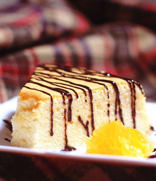 homemade chiffon cake