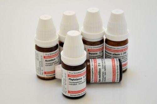 homeopathy globuli cure