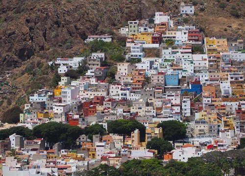 houses  canary islands  tenerife