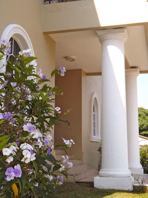 honduras home house entrance