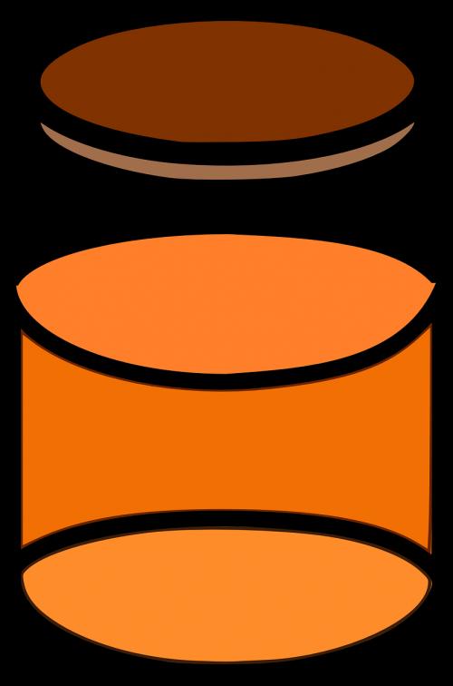 honey food glass