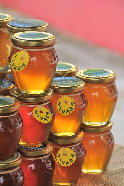 honey glasses food