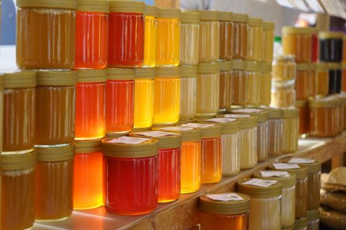honey honey jars forest honey
