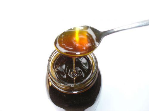 honey spoon jar