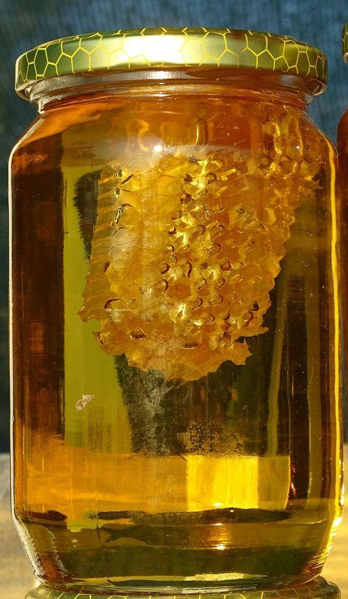 honey honey jar honeycomb