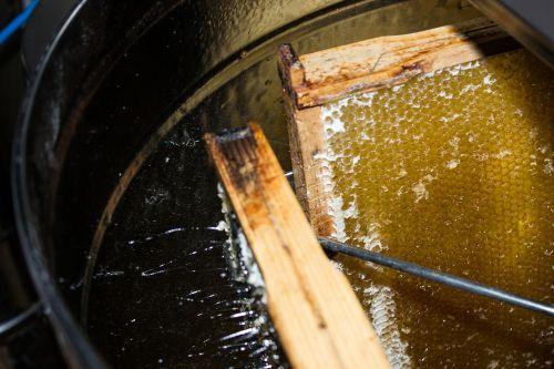 honey extraction sweet honey