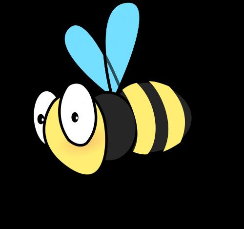 honeybee bee flying