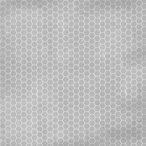 honeycomb hexagon gray