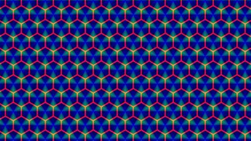 Honeycomb Fractal Art