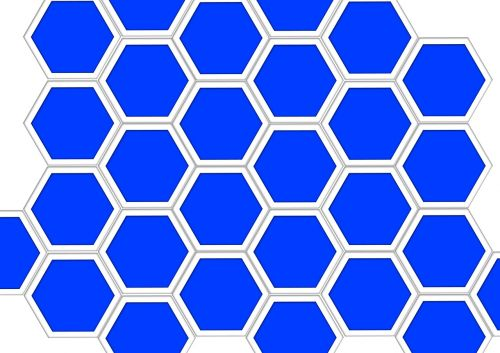 honeycomb structure diamond combs