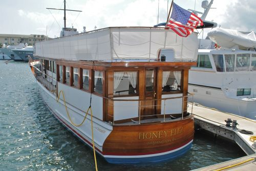 honeyfitz presidential yacht palm beach rybovich shipyard