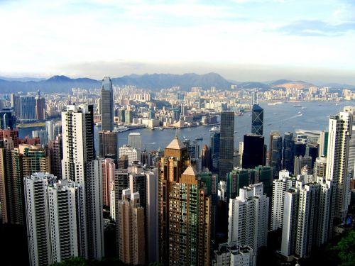 hong kong city high houses